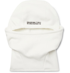 Neighborhood Logo-Embroidered Fleece-Back Jersey Balaclava