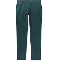 Club Monaco Connor Slim-Fit Cotton-Blend Twill Chinos