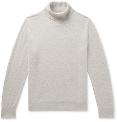 Club Monaco Mélange Cashmere Rollneck Sweater