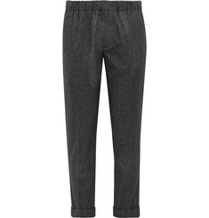 Club Monaco Charcoal Cuffed Cotton Trousers