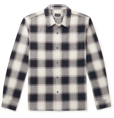 Club Monaco Checked Cotton Shirt