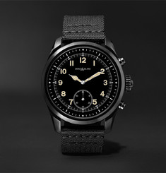 Montblanc - Summit 2 42mm Stainless Steel and Nylon Smart Watch