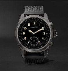 Montblanc - Summit 42mm Titanium and Rubber Smart Watch