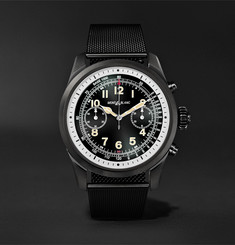 Montblanc Summit 2 42mm DLC-Coated Stainless Steel Smart Watch