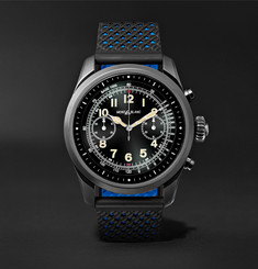 Montblanc  Summit 42mm Titanium and Rubber Smart Watch