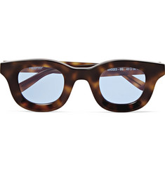 Rhude - + Thierry Lasry Rhodeo Square-Frame Tortoiseshell Acetate Sunglasses