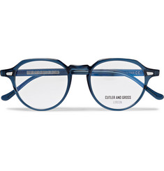 Cutler and Gross - Hexagonal-Frame Acetate Optical Glasses