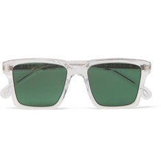 Paul Smith - Austin Square-Frame Acetate and Silver-Tone Sunglasses