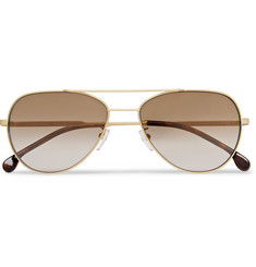 Paul Smith - Aviator-Style Gold-Tone and Tortoiseshell Acetate Sunglasses