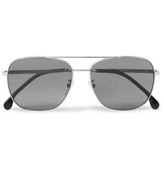Paul Smith - Aviator-Style Silver-Tone Sunglasses