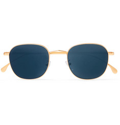 Paul Smith - Round Gold-Tone Sunglasses