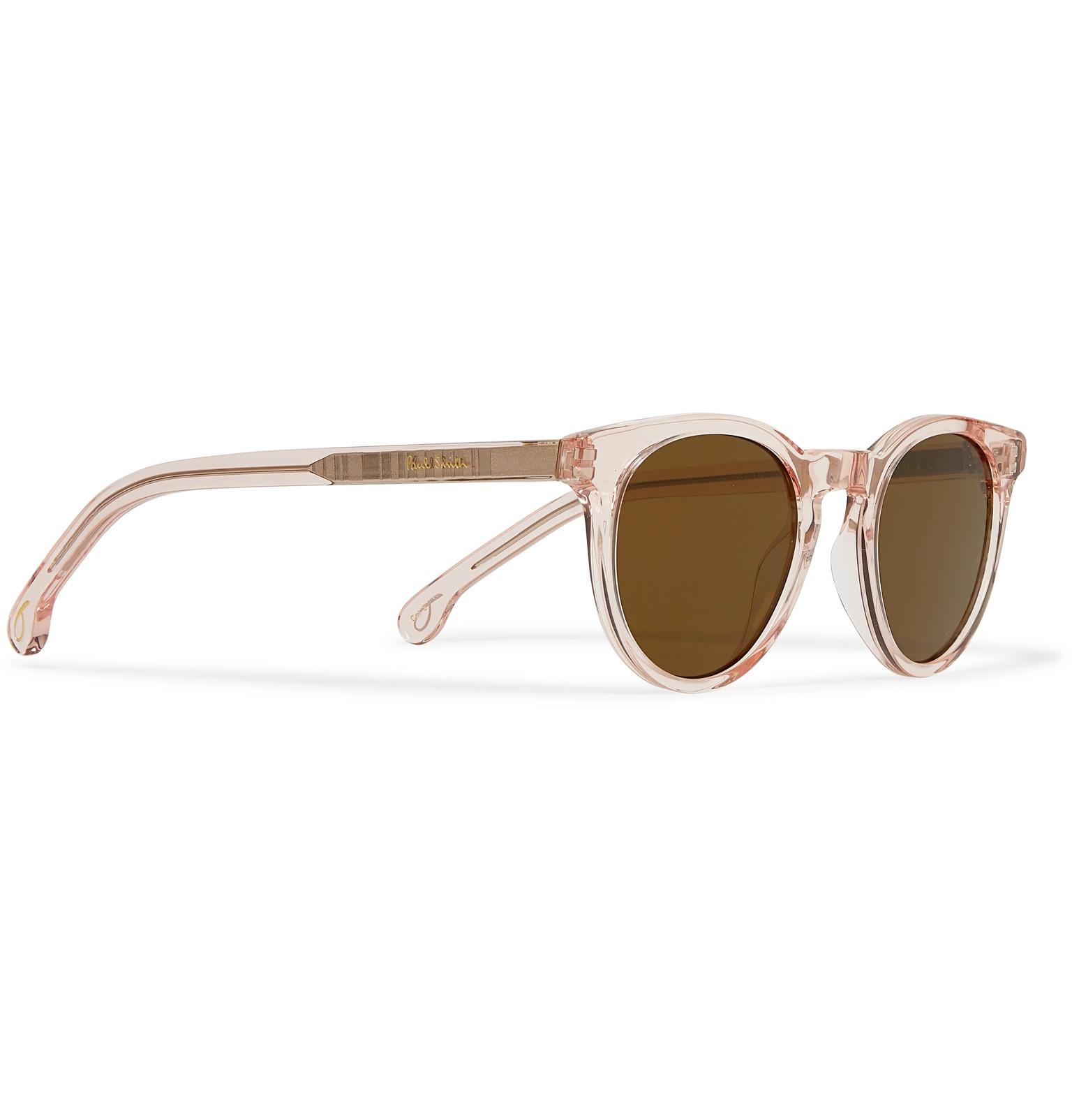 eed9a4b62 Paul Smith - Round-Frame Acetate Sunglasses