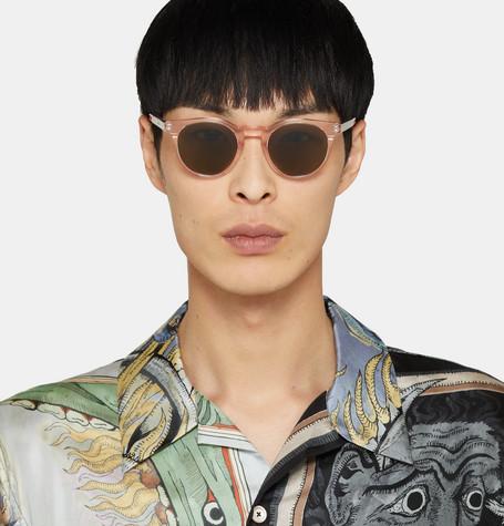3a7f0b146 Paul Smith Round-Frame Acetate Sunglasses - Pink - One Siz ...