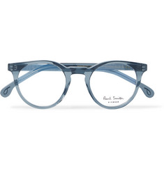 Paul Smith Archer Round-Frame Acetate Optical Glasses