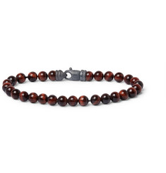 David Yurman Tiger's Eye Beaded Bracelet