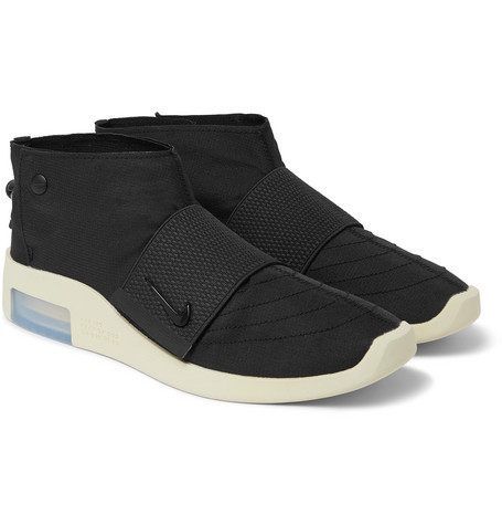+ Fear Of God Air 1 Moccasin Ripstop Sneakers - Black