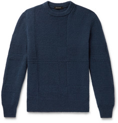 Ermenegildo Zegna Cashmere and Silk-Blend Sweater