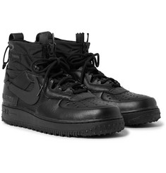 Nike Air Force 1 Winter GORE-TEX and Leather High-Top Sneakers