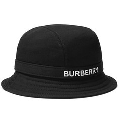 Burberry Logo-Print Cotton-Jersey Bucket Hat
