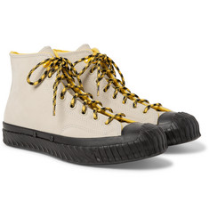 Converse Bosey Chuck 70 Fleece-Lined Nubuck High-Top Sneakers