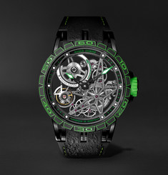 Roger Dubuis Excalibur Spider Pirelli Limited Edition Automatic Skeleton 45mm Titanium and Rubber Watch
