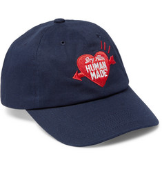 Human Made Logo-Embroidered Cotton-Twill Baseball Cap
