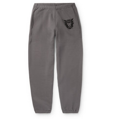 Human Made Tapered Logo-Print Fleece-Back Cotton-Jersey Sweatpants