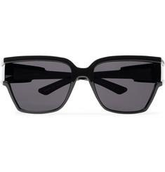 발렌시아가 D-프레임 블랙 아세테이트 선글라스 Balenciaga D-Frame Acetate Sunglasses,Black