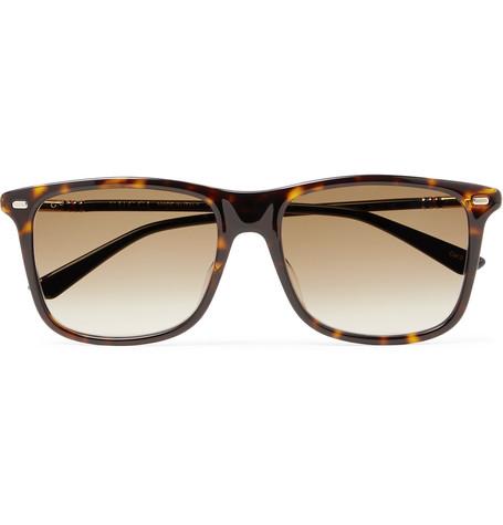Gucci – Square-frame Tortoiseshell Acetate Sunglasses – Tortoiseshell
