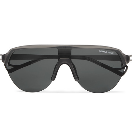 DISTRICT VISION Nagata Speed Blade Nylon and Titanium Sunglasses