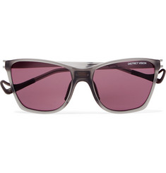 DISTRICT VISION Keiichi D-Frame Nylon and Titanium Sunglasses