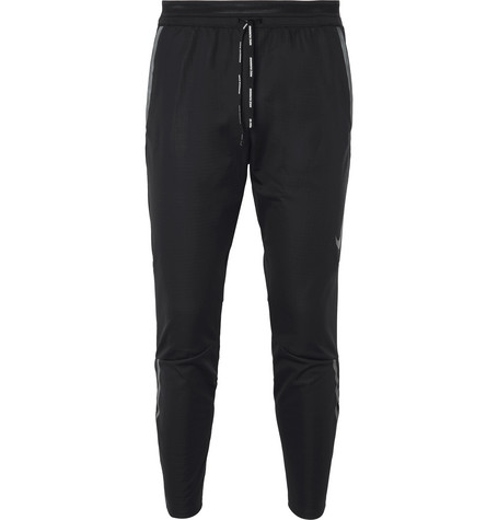 Nike Running Shield Swift Tech-Jersey Track Pants