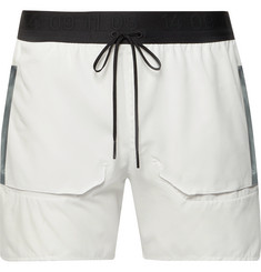 Nike Running Slim-Fit Mesh Drawstring Shorts