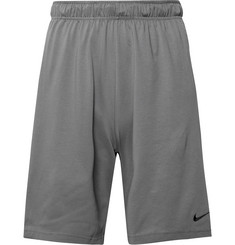Nike Training Cotton-Blend Dri-FIT Shorts