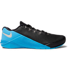 Nike Training Metcon 5 Rubber-Panelled Mesh Sneakers