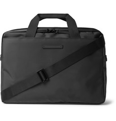 Gion Tarpaulin Briefcase - Black