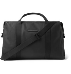 Sofo Waxed-canvas Holdall - Black