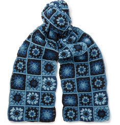 Story Mfg. - Crocheted Organic Cotton Scarf