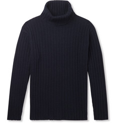 NN07 Davies Ribbed Wool-Blend Rollneck Sweater