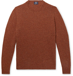 William Lockie Mélange Wool Sweater