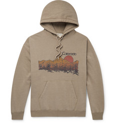 Remi Relief Colorado Printed Loopback Cotton-Blend Jersey Hoodie