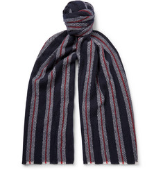 Johnstons of Elgin - Striped Cashmere Scarf