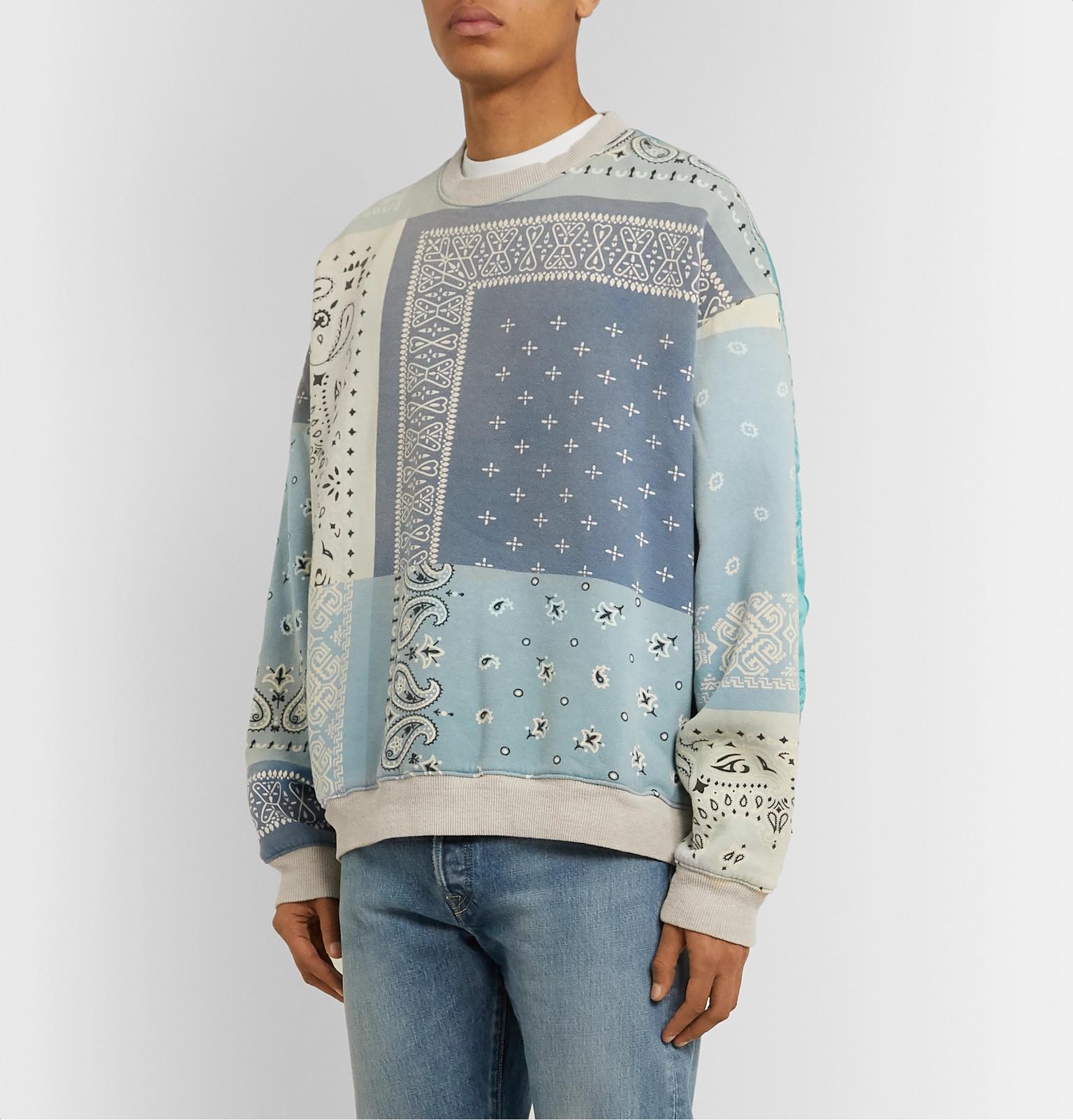 Shoptagr | Printed Patchwork Cotton Pants by Adidas Originals