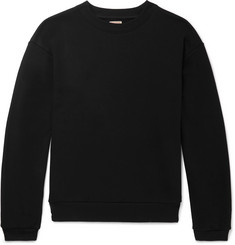 KAPITAL Printed Loopback Cotton-Jersey Sweatshirt