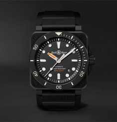 Bell & Ross - BR 03-92 Diver Automatic 42mm Ceramic and Rubber Watch