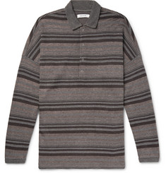 nonnative Striped Jacquard Polo Shirt