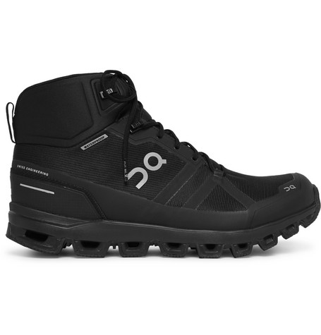 Cloudrock Waterproof Rubber Trimmed Mesh Boots by On