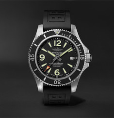 Breitling Superocean Chronometer Automatic 42mm Stainless Steel and Rubber Watch
