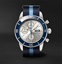Breitling + Ocean Conservancy Superocean Heritage Limited-Edition Chronometer 44mm Stainless Steel and NATO Wa