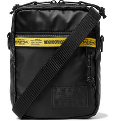 Neighborhood + Eastpak One Logo-Detailed Satin and Nylon Messenger Bag